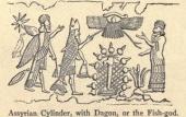 AssyrianCylinderDagonFishGod