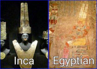 Annunaki_INCA_Egyptian_sidebyside