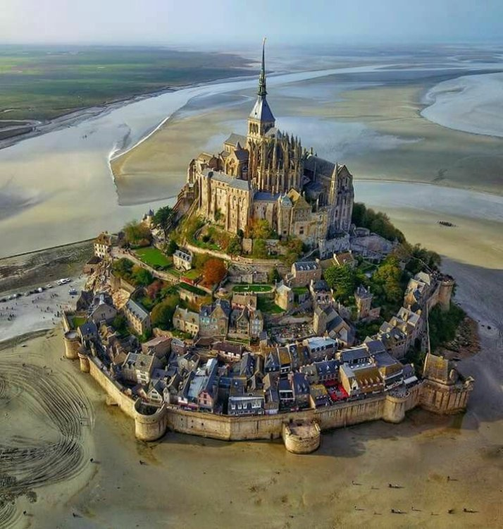 Mont St. Michel France Tartary Star Fort