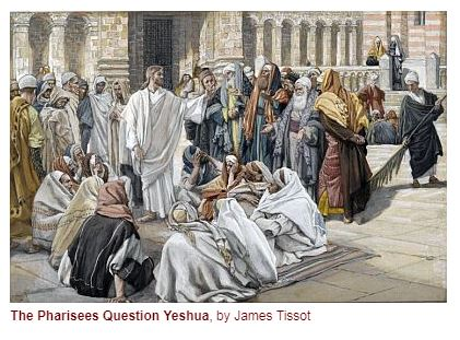 Yeshua Questioned by the Pharisees _ James Tissot