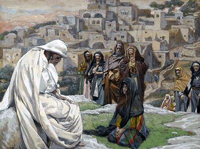 Yeshua Wept _ Tissot painting