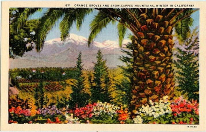 california postcard