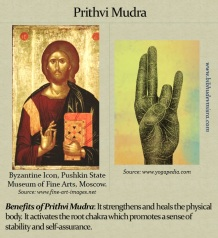 PrithviMudraChristHand