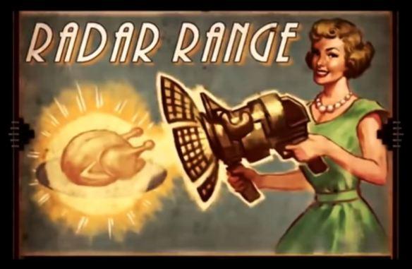 RadarRangeMicrowaveVintageAd