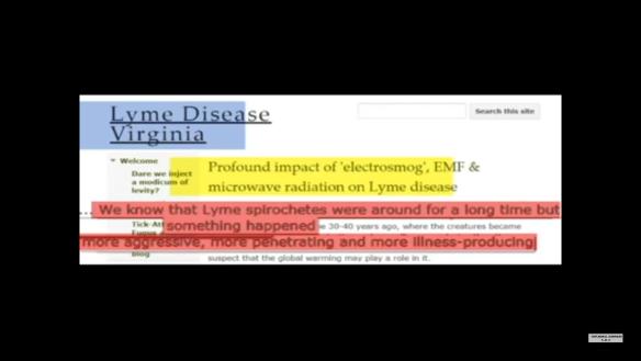 VA Lyme Forum EMF Alert