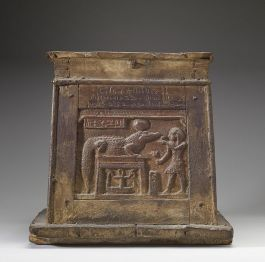 645px-Egyptian_Chest_with_Writing_Walters