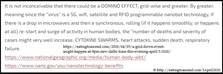 ETA Warns World 5G is Covid-19 NOT a virus 5April2020