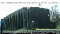 FEMA COFFINS ON TRAIN IN AMERICA FOR 5G AKA COVID-19