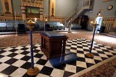 Freemason Tesselated Floor Grand Lodge Modern Color Photo