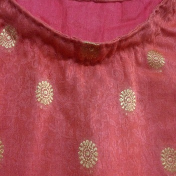 Punjabi Suit Handmade by Gramma 30Jan2020f
