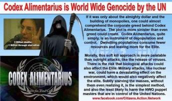 UN Depopulation Agenda Codex Alimentarus
